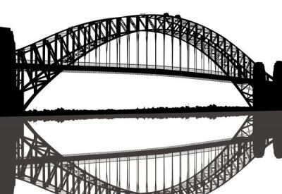 Naklejka Sydney Harbour Bridge