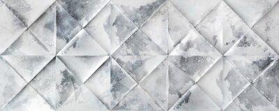 Naklejka Szary perła tle geometryczne kształty