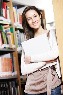 Szczęśliwy w Bibliotece