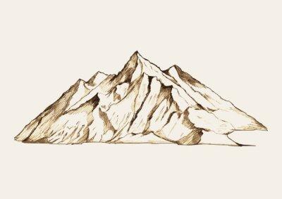 Naklejka Szkic ilustracji z góry