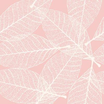 Naklejka Szkiele- liści bez szwu