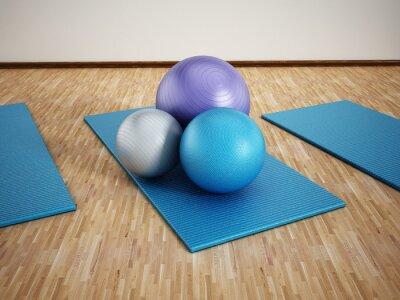 Naklejka Szkolenie Pilates