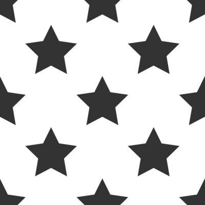 Naklejka szwu z gwiazdą