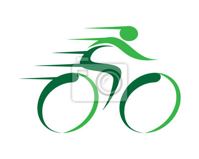 Naklejka Szybkie Logo rowerów