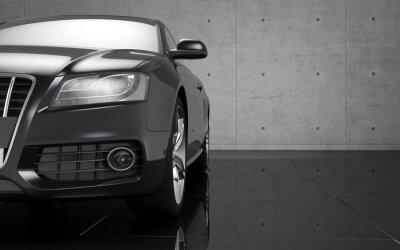 Naklejka Tapety luksusowy samochód