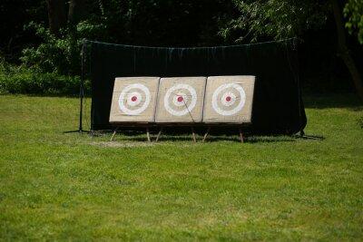 Naklejka Targets for recurve bow, archery