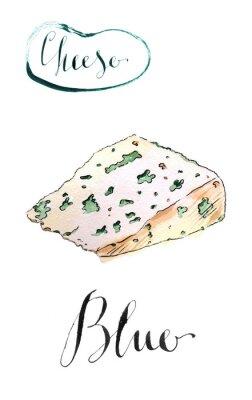 Naklejka Tasty ser pleśniowy