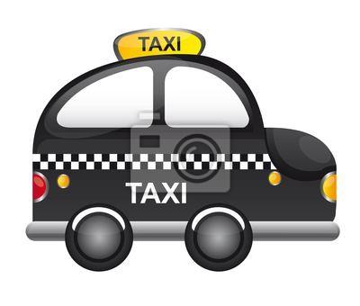 taxi wektor