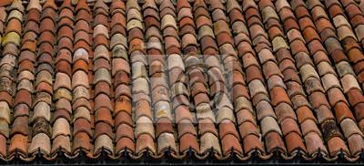 Naklejka Tegole sul tetto