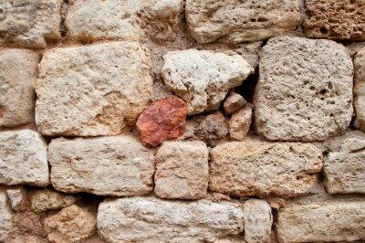 Naklejka tekstury de vieux mur en pierres