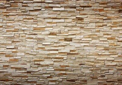 Naklejka tekstury na tle kamiennego muru