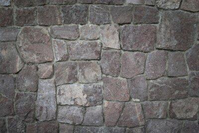 Naklejka Tekstury ścian z kamienia