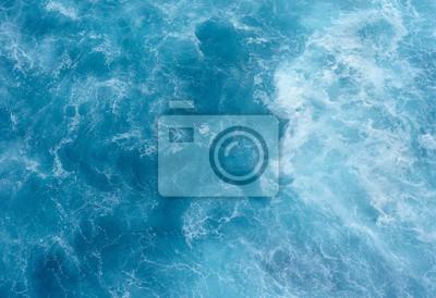 Naklejka Tekstury wody morskiej