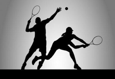 Naklejka Tennis - 175