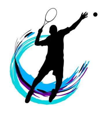 Naklejka Tennis - 199