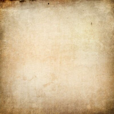 Naklejka Texture of old faded vintage paper, beige retro background, grunge paper in spots and streaks with space for text