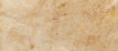 Naklejka texture of old grunge brown paper surface - vintage background
