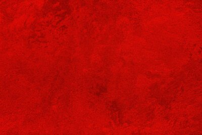Naklejka Texture of red decorative plaster or concrete. Abstract grunge background.