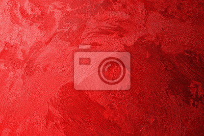Naklejka Texture of red wall