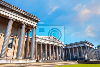Naklejka The British Museum in London, UK