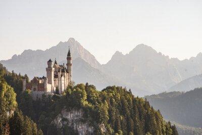 Naklejka The fairytale castle