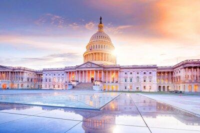 Naklejka The United States Capitol building