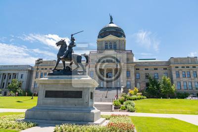 Naklejka Thomas Francis Meagher Statua w stolicy stanu Montana