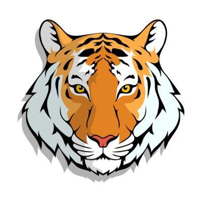 Naklejka Tiger logo