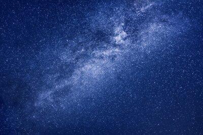 Naklejka tło gwiazd Drogi Mlecznej
