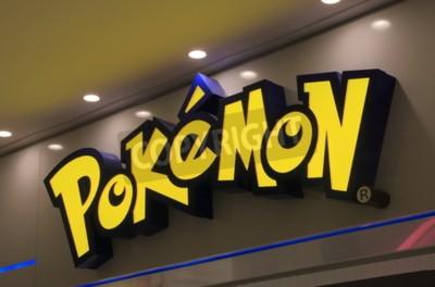 Naklejka Tokio Japonia - 09 maj 2015: Pokemon japońskiej animacji.