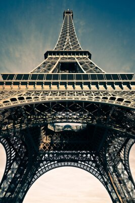 Naklejka Tour Eiffel Paris France