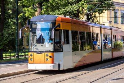 Naklejka Tramwaj w Krakowie