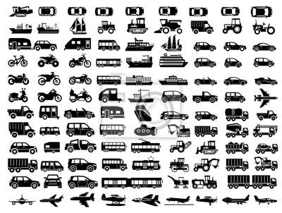 Naklejka Transport Icon