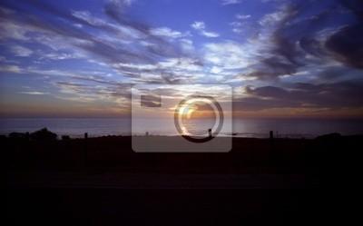 Trasa Kalifornien Amerika no. 1 Sundown