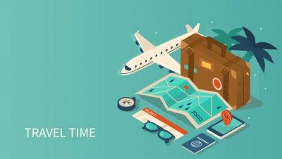 Naklejka travel