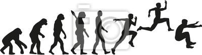 Trójskok Dreisprung Evolution