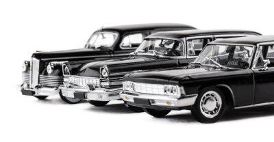 Naklejka Trzy retro autka
