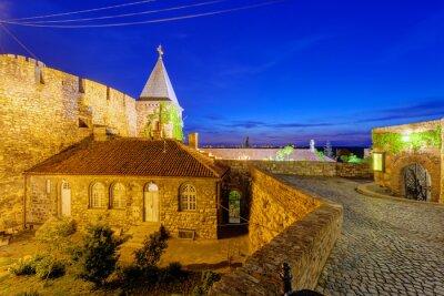 Naklejka Twierdza Belgrad i kościół z ogrodem