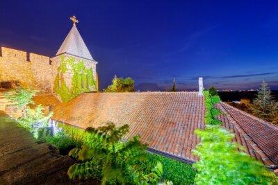 Twierdza Belgrad i kościół z ogrodem