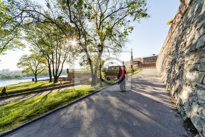 Twierdza Belgrad i parku