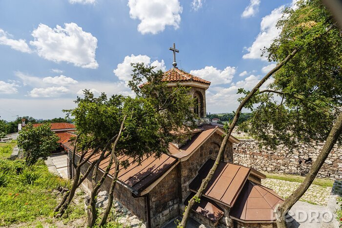 Naklejka Twierdza Belgrad i św Petka kapliczka