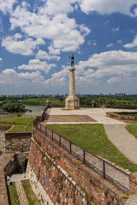 Twierdza Belgrad i Victor pomnik