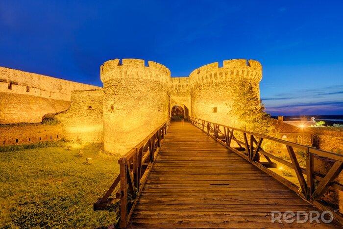Naklejka Twierdza Belgrad i widok panoramiczny