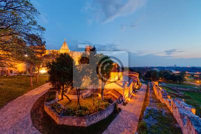 Twierdza Kalemegdan w Belgradzie i parku