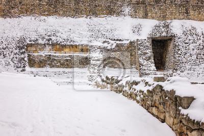 Twierdza pod śniegiem