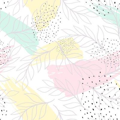 Naklejka Twórcze uniwersalne tło artystyczne. Ręcznie rysowane tekstury. Modny projekt graficzny na baner, plakat, wizytówkę, okładkę, zaproszenie, afisz, broszurę lub nagłówek.