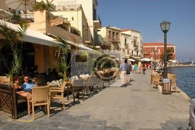 Uferpromenade w Chania, Kreta