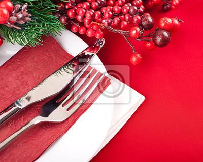 Układ Christmas tabeli, wielobarwne taśmy z odgałęzieniem