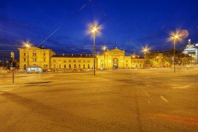 Ulica Belgrad w pobliżu starego dworca