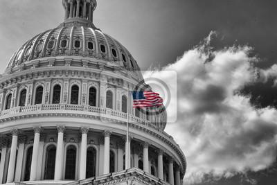 Naklejka US Capitol State Building Washington DC, USA